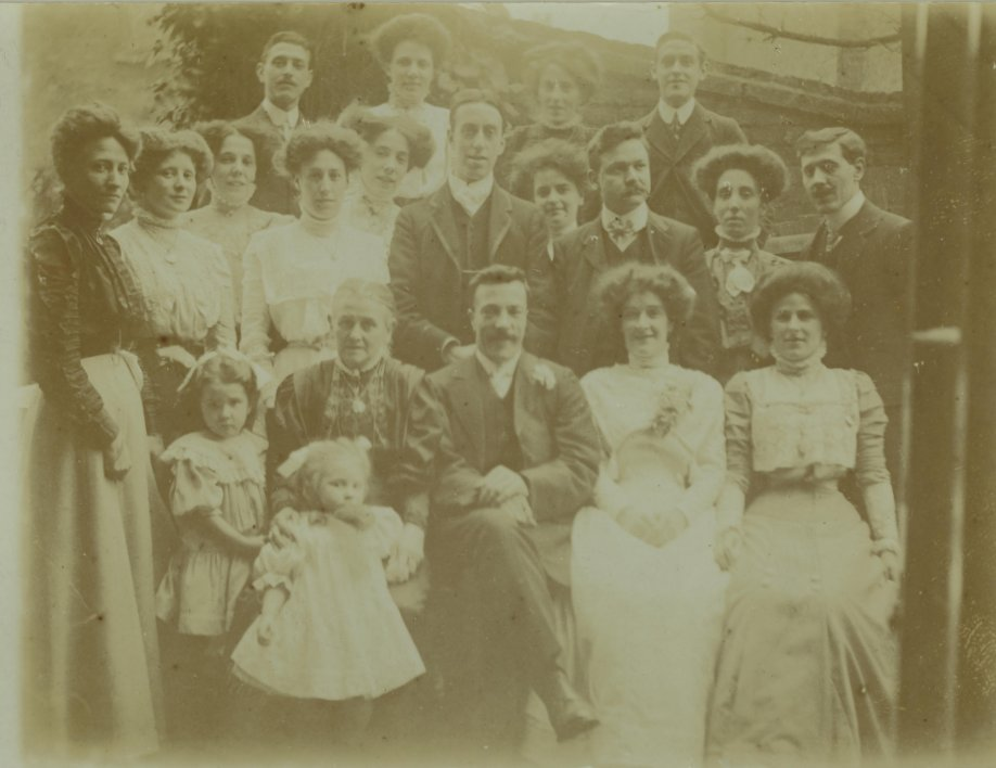 Richard Carpenter Wedding 9th January 1910 1 at The Wedding of Richard Spicer And Susan Tomkins